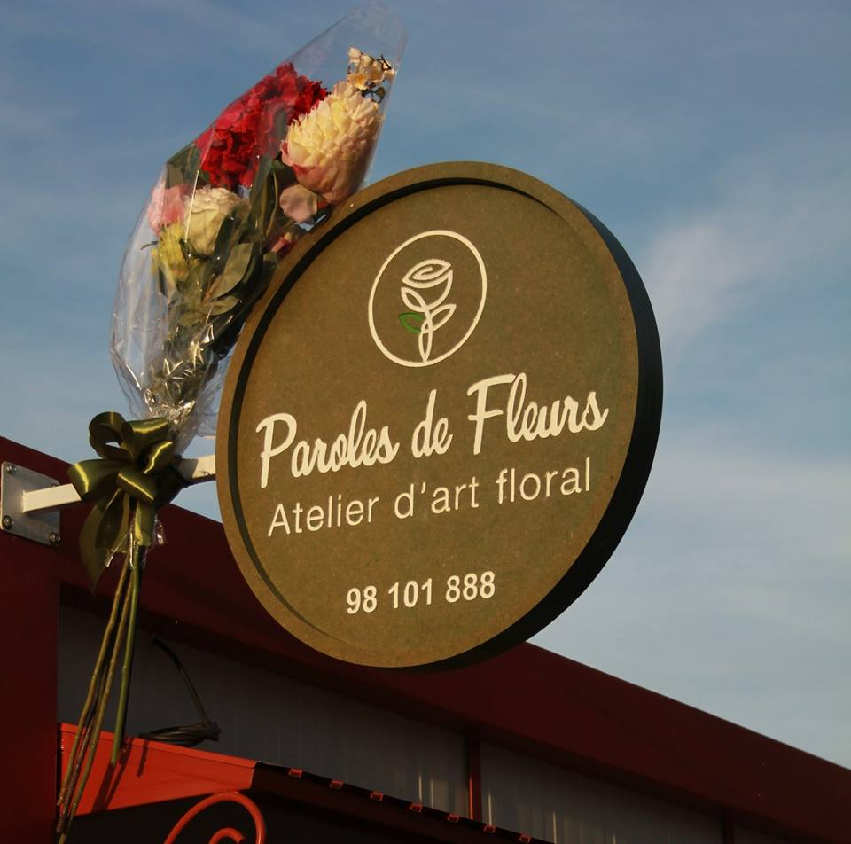 logo Paroles de fleurs